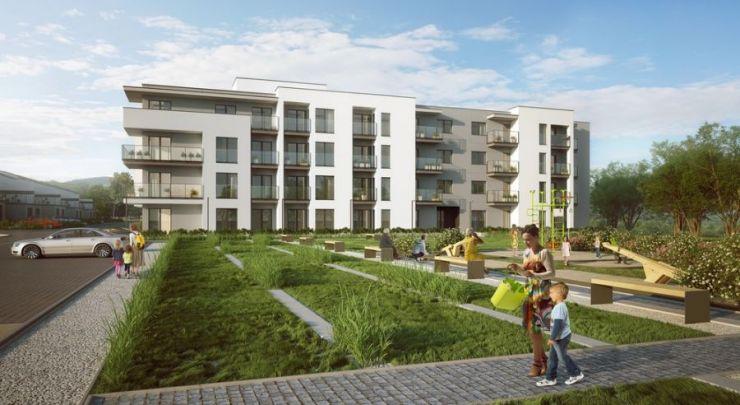 mieszkania na sprzedaż , Inter-Bud Developer sp. z o.o. sp.k. , Kraków, Dębniki/Kliny Zacisze, ul. Spacerowa - KRN.pl