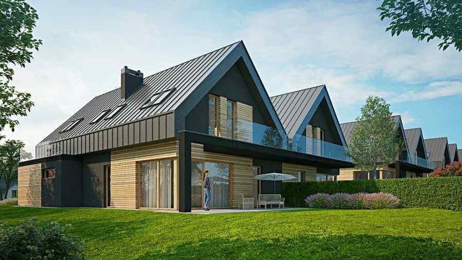 domy , Vega Domy, Garlica Duchowna, ul. Wiosenna - KRN.pl