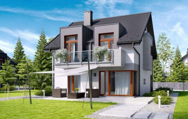 domy , Panorama Grabówki II etap, Grabówki - KRN.pl
