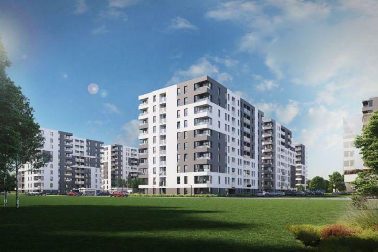 Piasta Towers Budynek 5, Kraków, Mistrzejowice, ul. Piasta Kołodzieja - KRN.pl