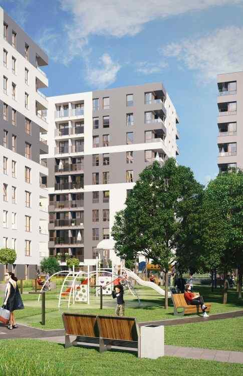 Kraków, Mistrzejowice, ul. Piasta Kołodzieja, mieszkania na sprzedaż , Piasta Towers Budynek 5 - KRN.pl