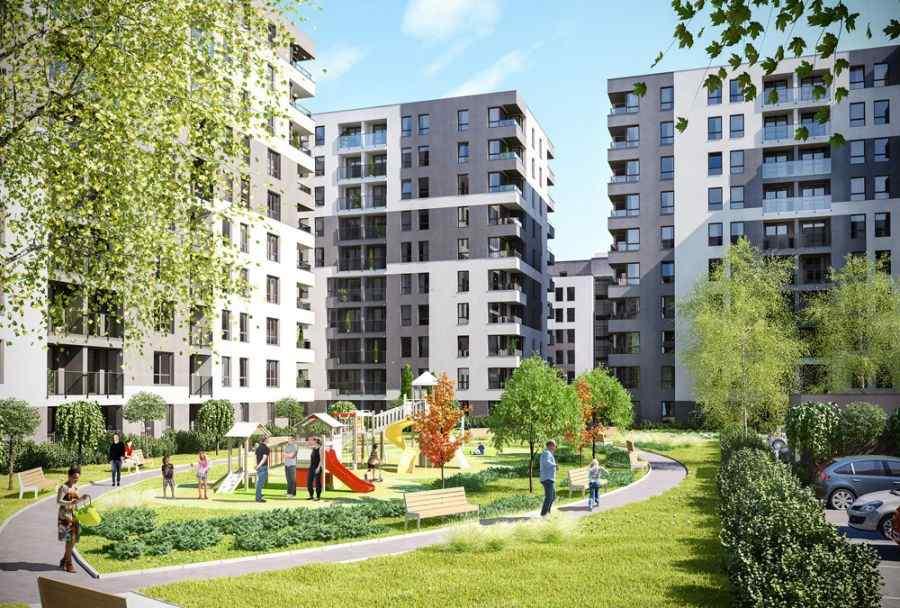 mieszkania na sprzedaż , Piasta Towers Budynek 5, Kraków, Mistrzejowice, ul. Piasta Kołodzieja - KRN.pl