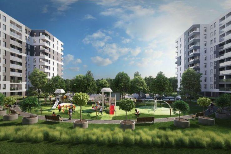 Inter-Bud Developer sp. z o.o. sp.k. , Piasta Towers Budynek 5, Kraków, Mistrzejowice, ul. Piasta Kołodzieja - KRN.pl