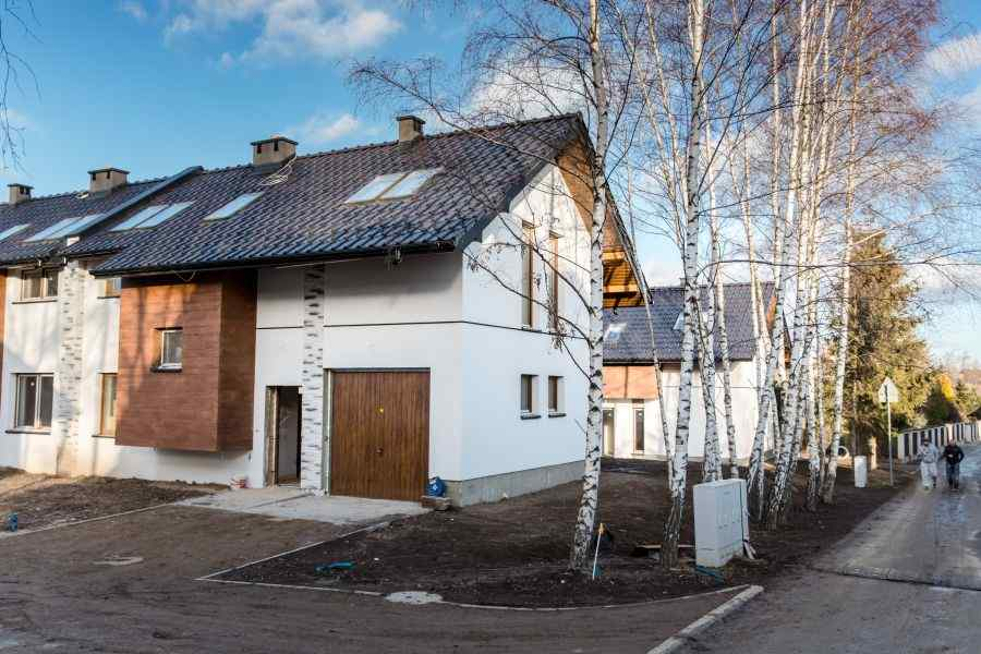 domy , Zacisze Bibice, Bibice, ul. Jagodowa - KRN.pl