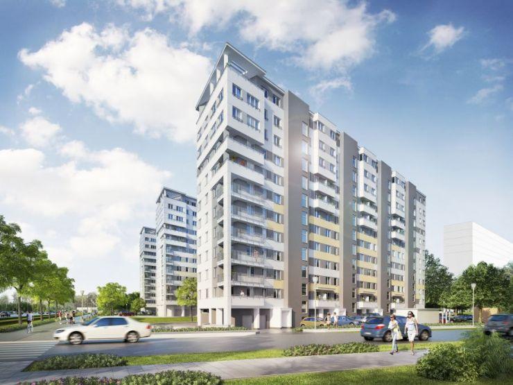 mieszkania na sprzedaż , START CITY, Kraków, Bieżanów-Prokocim, ul. Republiki Korczakowskiej - KRN.pl