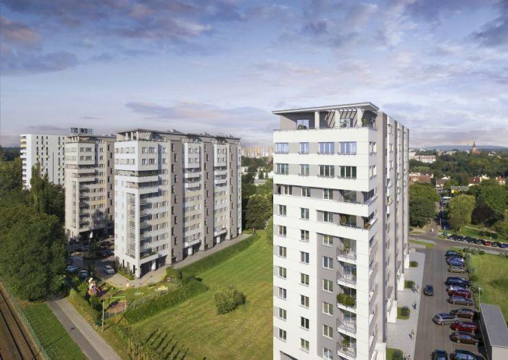 lokale użytkowe na sprzedaż, mieszkania na sprzedaż , Grupa Deweloperska START, Kraków, Bieżanów-Prokocim, ul. Republiki Korczakowskiej - KRN.pl
