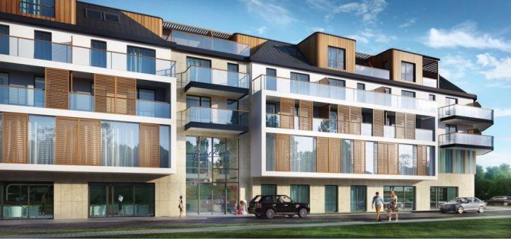 mieszkania na sprzedaż , Apartamenty Bel Mare, Międzyzdroje, ul. Nowomyśliwska - KRN.pl