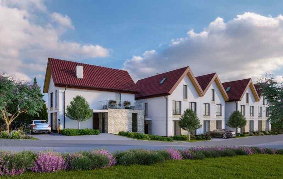 mieszkania na sprzedaż, domy , 3 Kolory przy ul. Taklińskiego, Kraków, Swoszowice, ul. W. Taklińskiego - KRN.pl