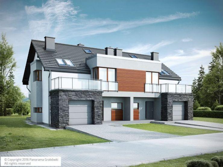 domy , Panorama Grabówki III etap, Grabówki - KRN.pl