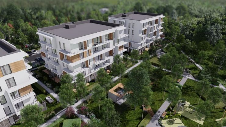 Wieliczka, ul. Wygoda, mieszkania na sprzedaż , JANIA CONSTRUCTION - KRN.pl