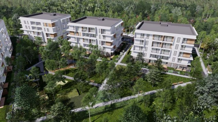 Wieliczka Park, mieszkania na sprzedaż , Wieliczka, ul. Wygoda - KRN.pl