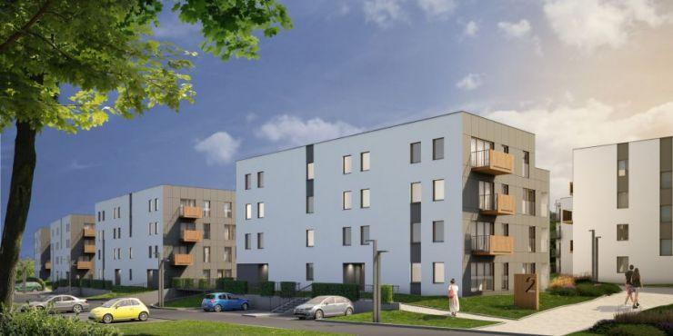 mieszkania na sprzedaż , Osiedle Pasteura II Etap, Kraków, Prądnik Biały, ul. L. Pasteura - KRN.pl