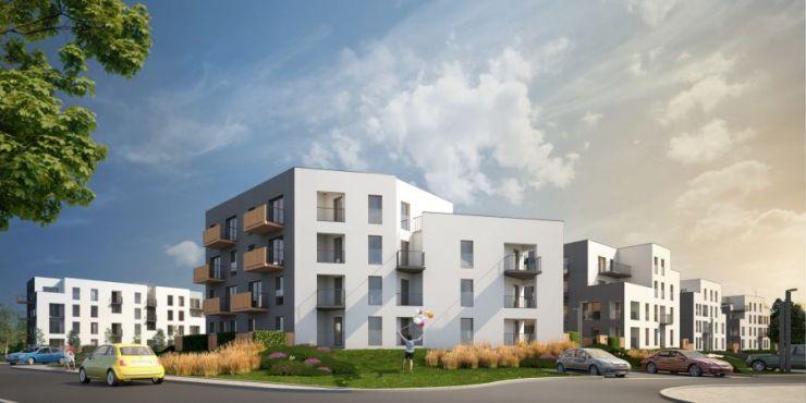 mieszkania na sprzedaż , Tętnowski Development, Kraków, Prądnik Biały, ul. L. Pasteura - KRN.pl