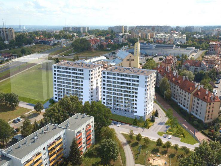 Kraków, Podgórze Duchackie, ul. Turniejowa, mieszkania na sprzedaż , KRAKOIN - KRN.pl