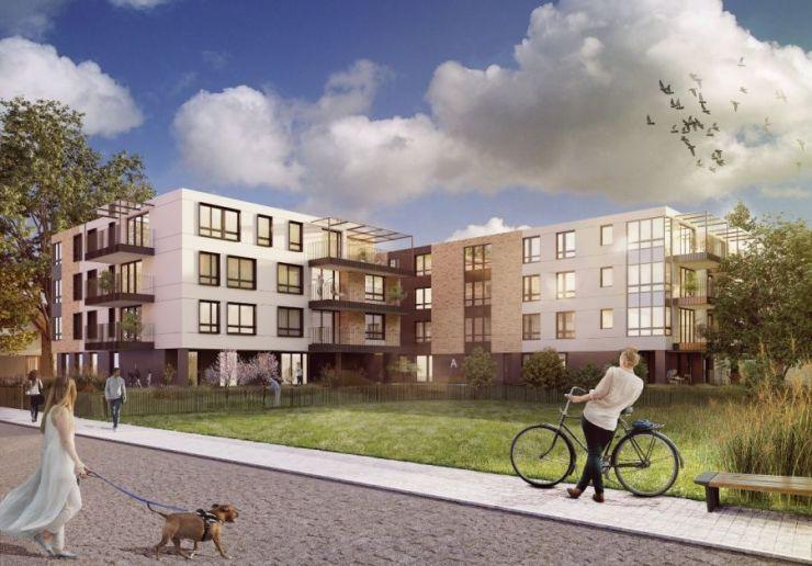 mieszkania na sprzedaż , Rogalskiego - Apartamenty na Woli , Kraków, Zwierzyniec/Wola Justowska, ul. F. Rogalskiego - KRN.pl