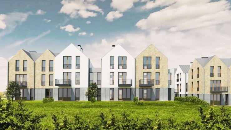 mieszkania na sprzedaż , Osiedle Ostoya Wieliczka, Wieliczka, ul. Różana - KRN.pl