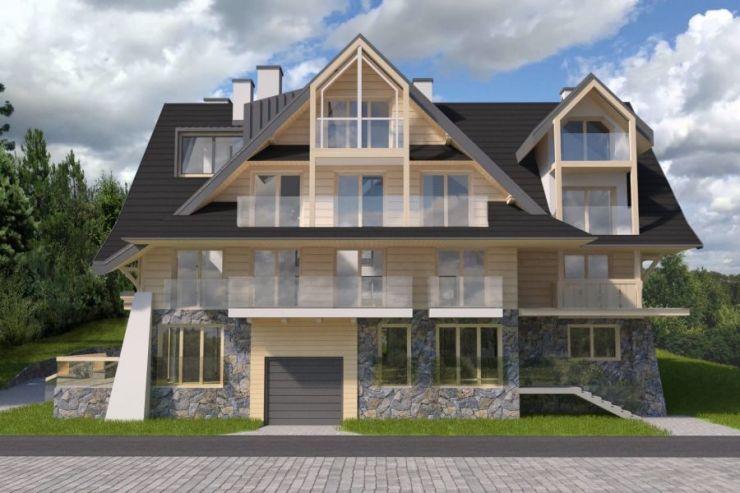 mieszkania na sprzedaż , Tatra Square Residence, Zakopane, ul. Jaszczurówka-Bory - KRN.pl