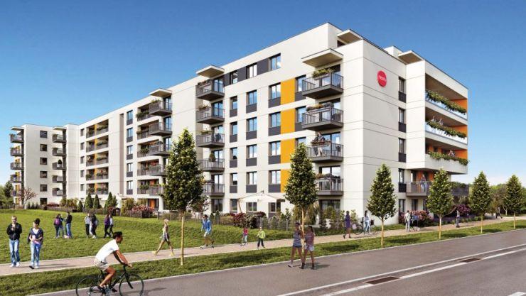 mieszkania na sprzedaż , MALTA POINT, Poznań, Nowe Miasto, ul. Milczańska - KRN.pl