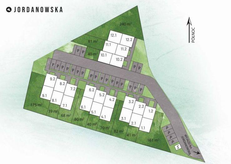 Jordanowska, mieszkania na sprzedaż , Kraków, Prądnik Biały, ul. Jordanowska - KRN.pl