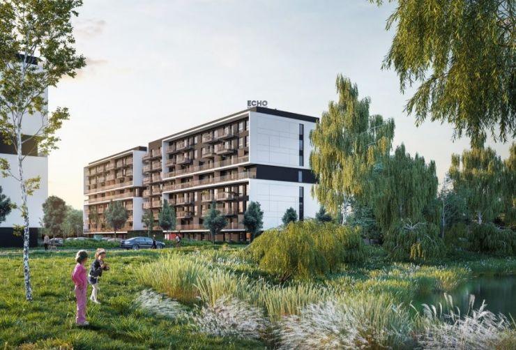 Echo Investment S.A. , Osiedle Bonarka Living, Kraków, Podgórze Duchackie - KRN.pl