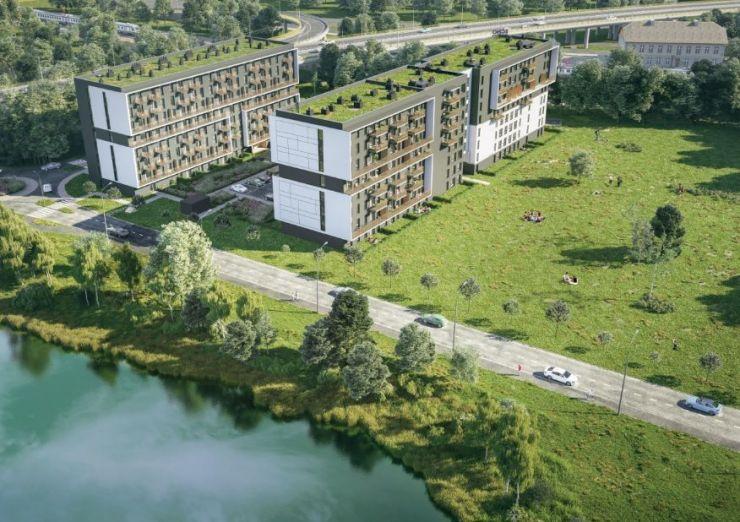 mieszkania na sprzedaż , Echo Investment S.A. , Kraków, Podgórze Duchackie - KRN.pl