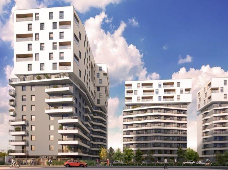 mieszkania na sprzedaż , Echo Investment S.A. , Kraków, Bronowice, ul. Stańczyka - KRN.pl