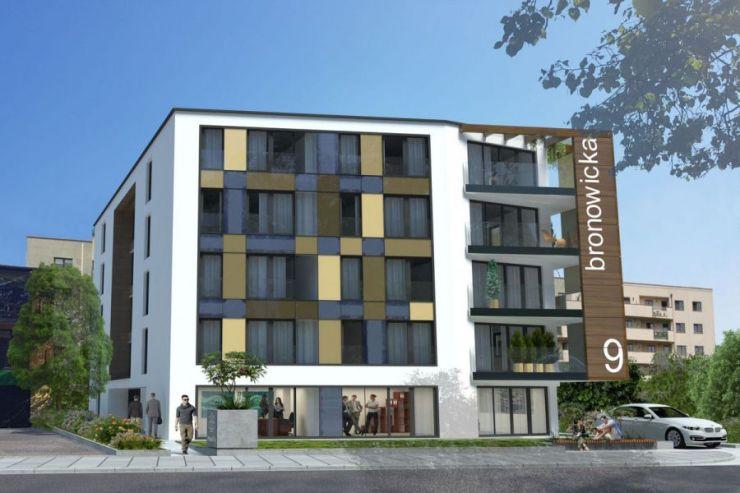 mieszkania na sprzedaż , Bronovia, Kraków, Bronowice, ul. Bronowicka - KRN.pl
