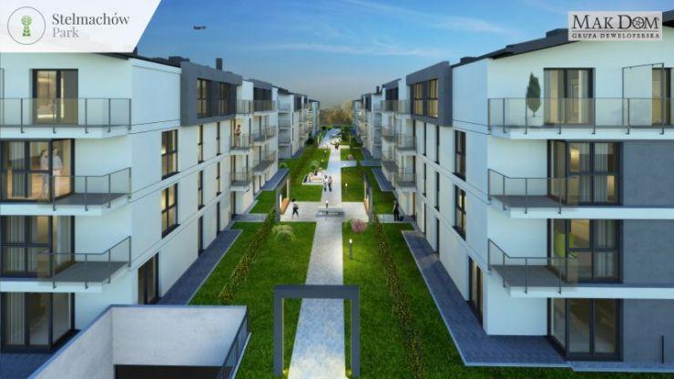 Mak Dom Holding S.A., mieszkania na sprzedaż , Kraków, Prądnik Biały, ul. Stelmachów - KRN.pl