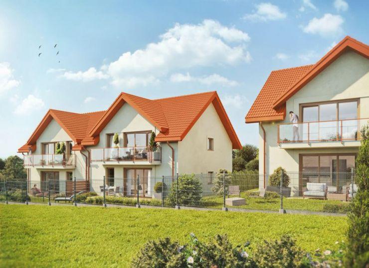 mieszkania na sprzedaż, domy , Osiedle Klonowe 11b, Wieliczka, ul. Zbożowa - KRN.pl
