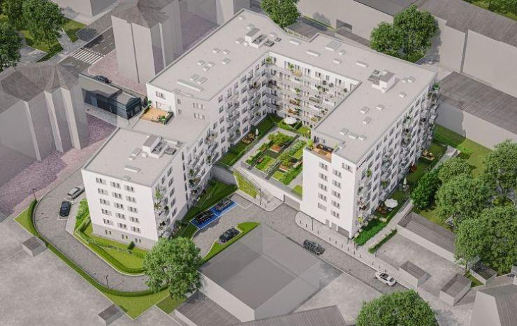 Gliwice, ul. Mikołowska, mieszkania na sprzedaż , APARTAMENTY MIKOŁOWSKA - KRN.pl