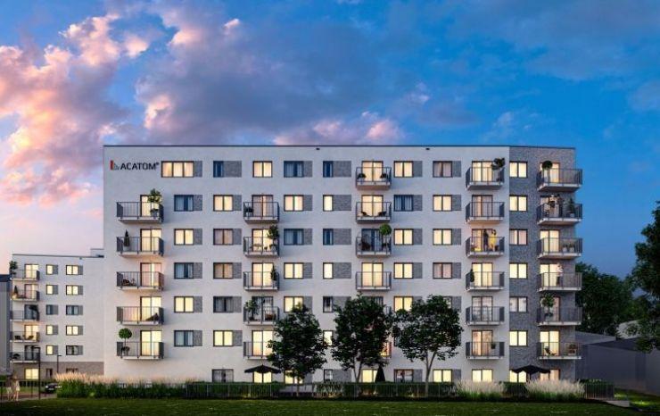 mieszkania na sprzedaż , ACATOM Sp. z o.o. Sp.k., Gliwice, ul. Mikołowska - KRN.pl