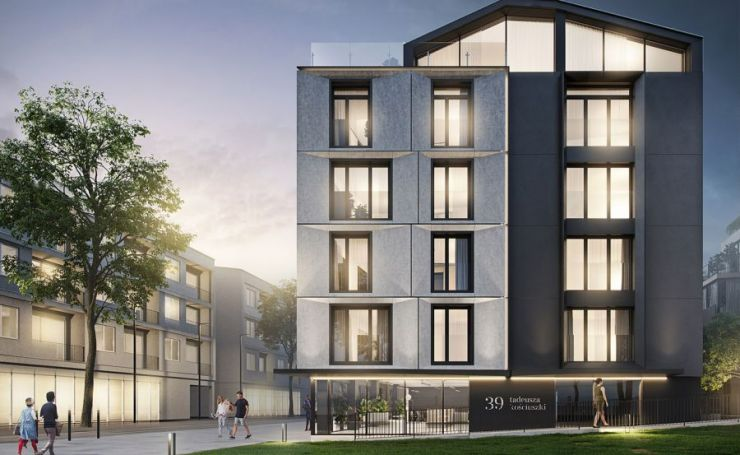 mieszkania na sprzedaż , K39 Core Projekt Sp. z o.o. Sp. k., Kraków, Zwierzyniec, ul. gen. T. Kościuszki - KRN.pl