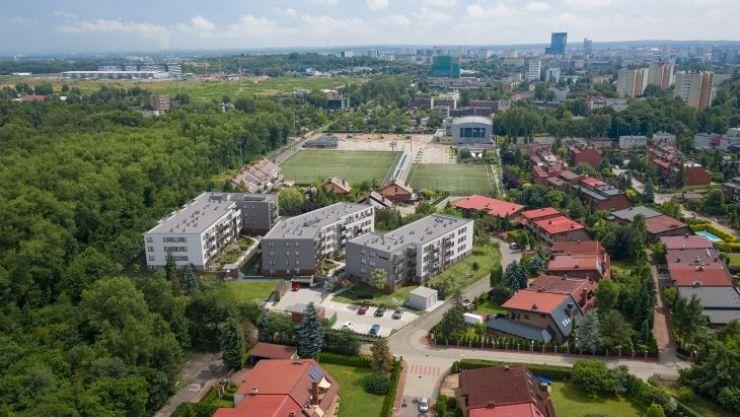 Daszyńskiego Park, Katowice, Wełnowiec-Józefowiec, ul. I. Daszyńskiego - KRN.pl