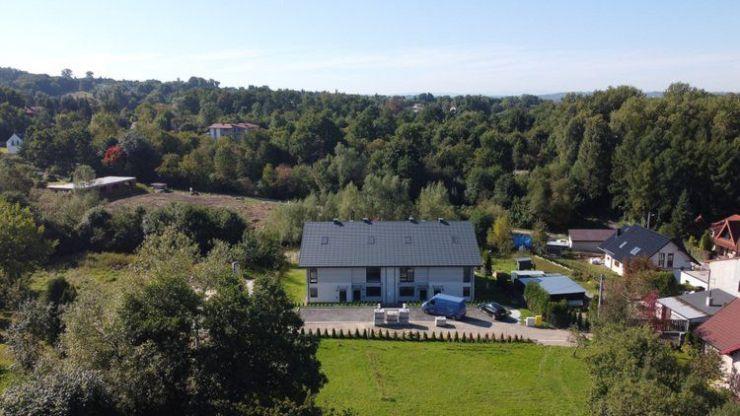 domy , ul. Wyrwa, Kraków, Podgórze Duchackie, ul. Wyrwa - KRN.pl