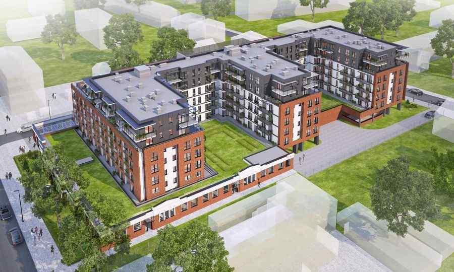 mieszkania na sprzedaż, Tętnowski Development, Kraków, Krowodrza, ul. Prądnicka - KRN.pl