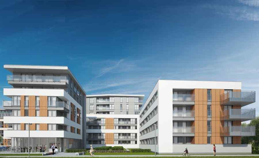 mieszkania na sprzedaż , Oaza Bronowice Etap II  Sp. z o.o. Sp. K.A., Kraków, Bronowice, ul. Stańczyka - KRN.pl