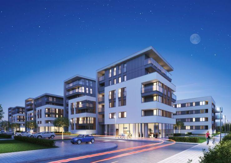 lokale użytkowe na sprzedaż, mieszkania na sprzedaż , Oaza Bronowice Etap II  Sp. z o.o. Sp. K., Kraków, Bronowice, ul. Stańczyka - KRN.pl