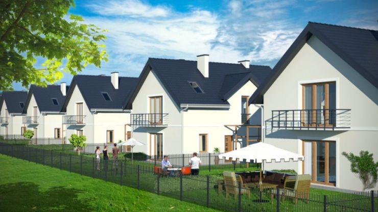 mieszkania na sprzedaż, domy , Spokojne Osiedle, Tomaszowice, ul. Spokojna - KRN.pl