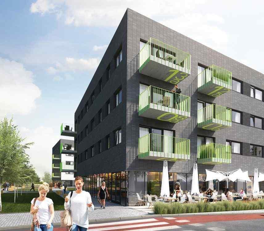 mieszkania na sprzedaż , Henniger Investment S.A., Kraków, Bronowice/Bronowice Małe, ul. Katowicka - KRN.pl