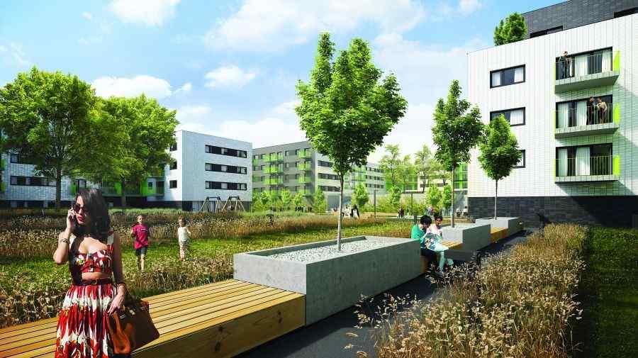 Henniger Investment S.A., Mieszkaj w mieście Etap 2, Kraków, Bronowice/Bronowice Małe, ul. Katowicka - KRN.pl
