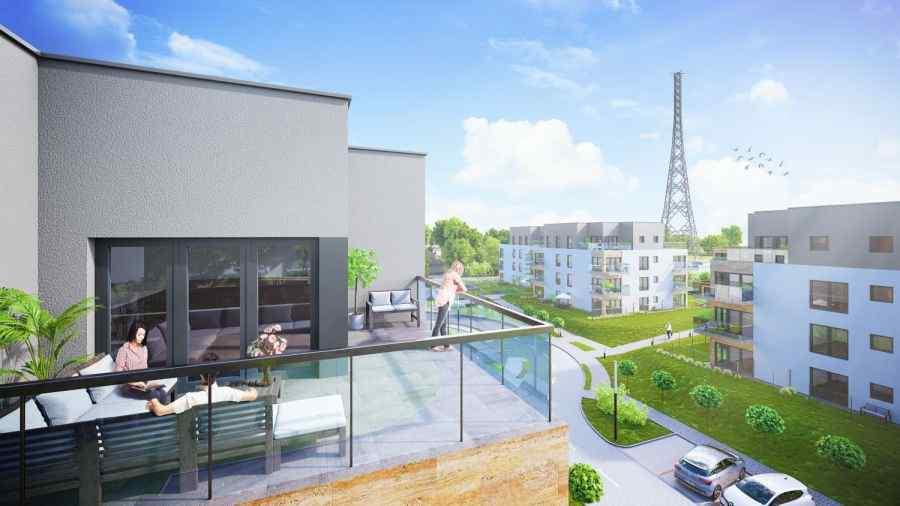 mieszkania na sprzedaż , Osiedle Paryskie, Gliwice, ul. Lubliniecka - KRN.pl