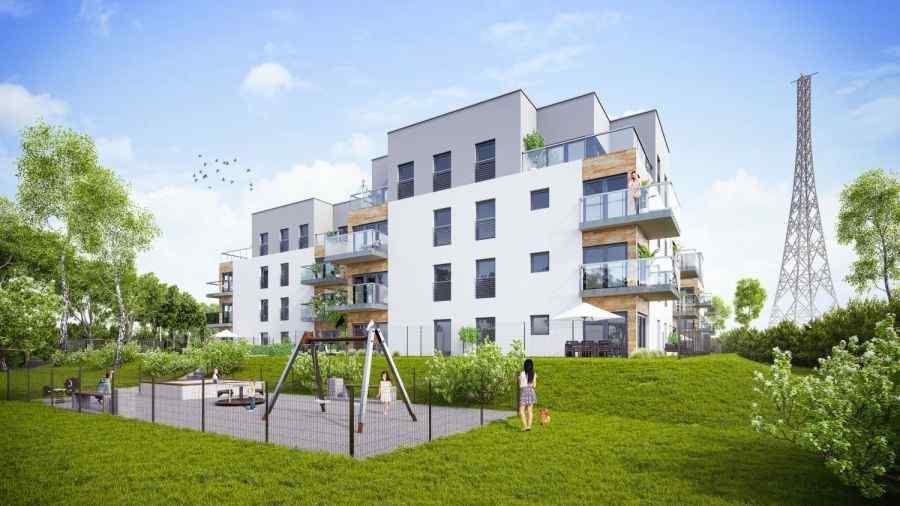 mieszkania na sprzedaż , OSIEDLE PARYSKIE SP. ZO.O. SP. KOMANDYTOWA, Gliwice, ul. Lubliniecka - KRN.pl