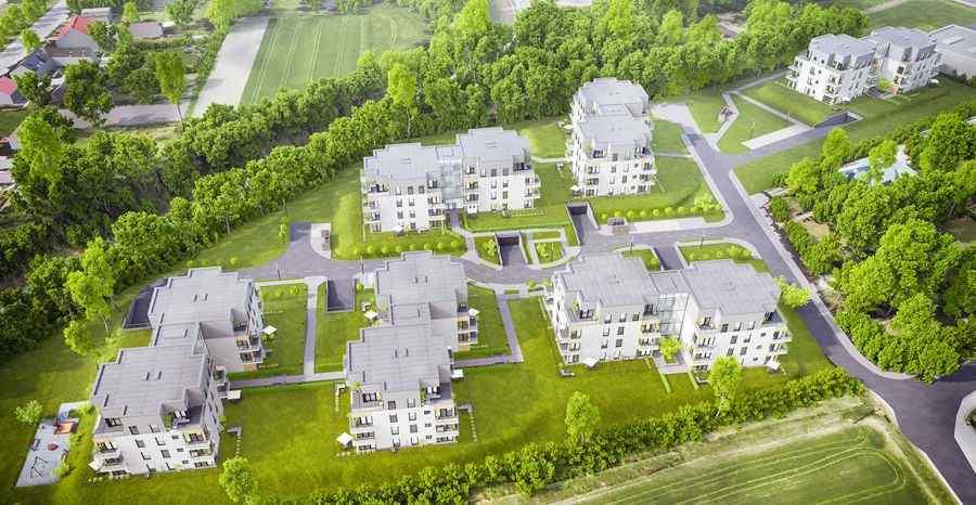 Osiedle Paryskie, mieszkania na sprzedaż , Gliwice, ul. Lubliniecka - KRN.pl