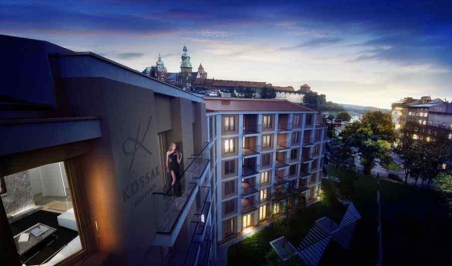 mieszkania na sprzedaż , Kossak Residence, Kraków, Stare Miasto, ul. W. Kossaka - KRN.pl