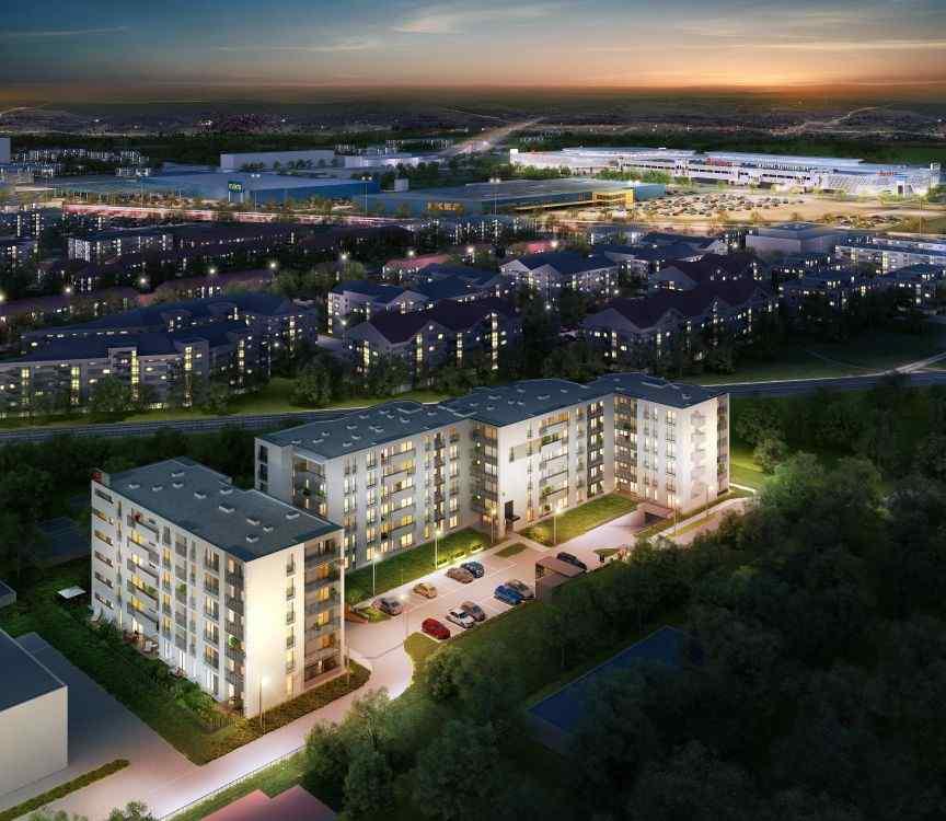 Przedsiębiorstwo Budowlane  Start sp. j., Modern House, Kraków, Prądnik Biały/Azory, ul. W. E. Radzikowskiego - KRN.pl