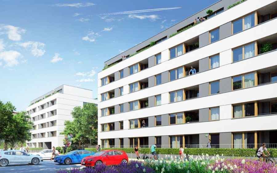 mieszkania na sprzedaż , Osiedle Piltza - Etap III, Kraków, Dębniki, ul. dr. J. Piltza - KRN.pl