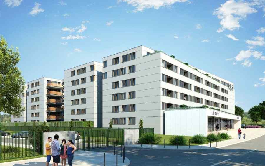 mieszkania na sprzedaż , KG Group Sp. z o.o., Kraków, Dębniki, ul. dr. J. Piltza - KRN.pl