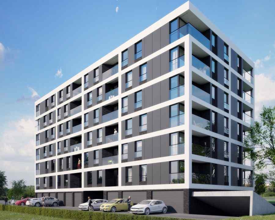 mieszkania na sprzedaż , Apartamenty Lema, Kraków, Grzegórzki/Dąbie, ul. S. Lema - KRN.pl