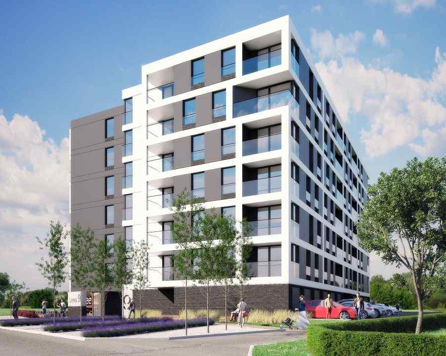 GL Development , Apartamenty Lema, Kraków, Grzegórzki/Dąbie, ul. S. Lema - KRN.pl