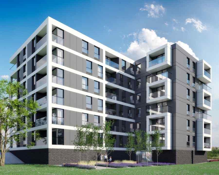 mieszkania na sprzedaż , GL Development , Kraków, Grzegórzki/Dąbie, ul. S. Lema - KRN.pl
